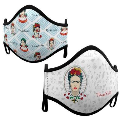 Pack 2 Máscaras Frida Kahlo sortido infantil