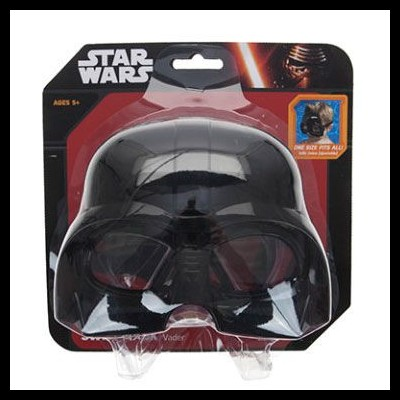 Óculos de mergulho Darth Vader Star Wars Disney máscara