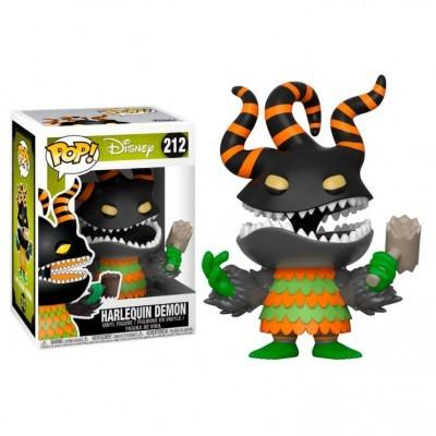 Figura POP Disney O estranho mundo de Jack The Nightmare before Christmas Harlequin Demon