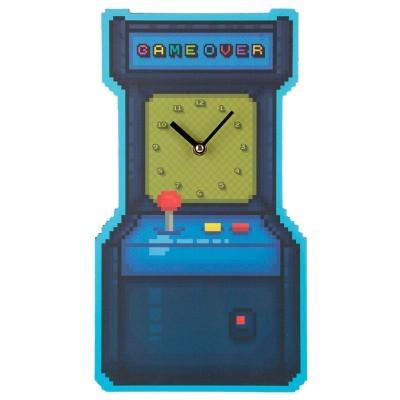 Relógio de parede Jogo Arcade Game Over