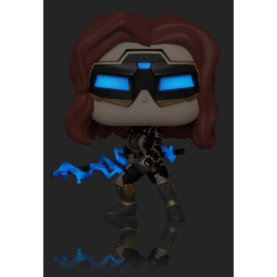 Figura POP Marvel Avengers Game Black Widow Stark Tech Suit Glow Chase