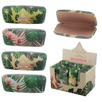 Caixa para óculos - Plantas Tropicáis