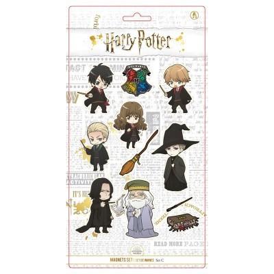 Conjunto 11 magnéticos personagens Harry Potter