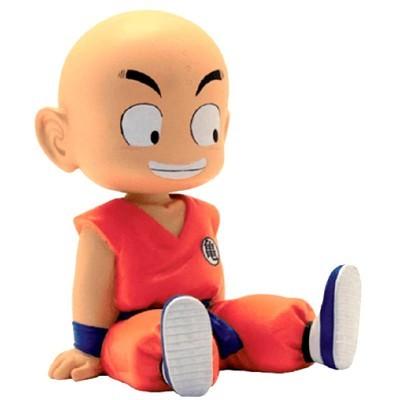 Figura Mealheiro Chibi Krilin Dragon Ball 15cm