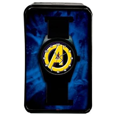 Relógio analógico Logo Vingadores Avengers Marvel