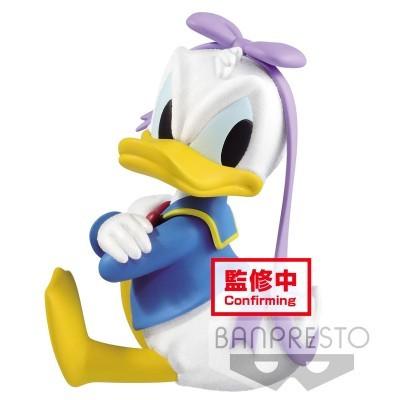 Figura Donald Duck Fluffy Puffy Disney B 10cm