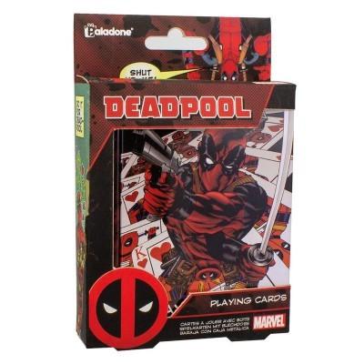 Baralho de cartas Deadpool Marvel