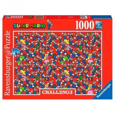 Puzzle Challenge Super Mario Nintendo 1000pcs