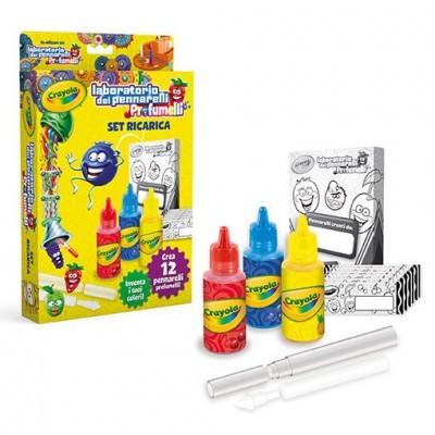 Conjunto recarga Laboratório de marcadores com odor Crayola