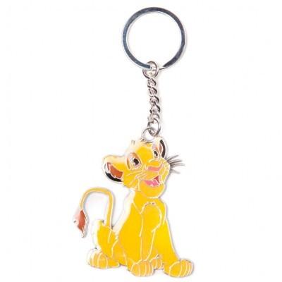 Porta-chaves metal Simba Rei Leão Lion King Disney