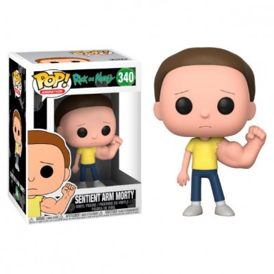 Figura POP Rick and Morty Prison Sentinent Arm Morty