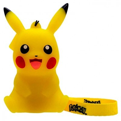 Mini Lâmpada led 3D Pikachu Pokemon