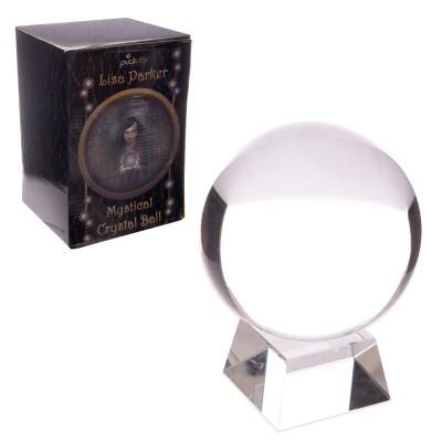 Bola de Cristal com expositor e caixa de oferta 10cm