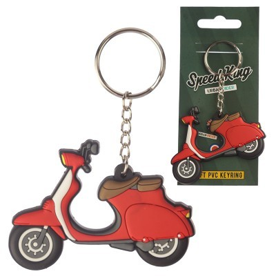 Porta-chaves PVC - Scooter