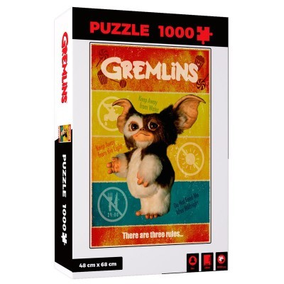 Puzzle There Are Three Rules Gremlins 1000pcs