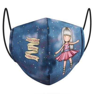 Máscara reutilizável Dancing Among The Stars Gorjuss 10/12 anos