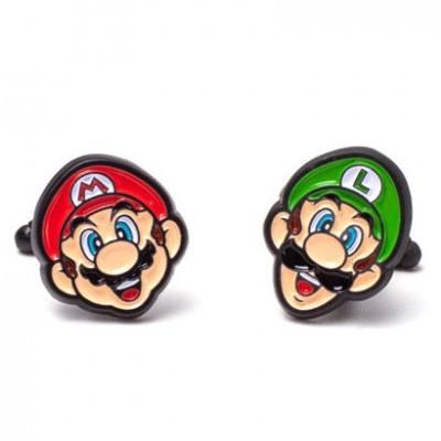 Botões de Punho Mario and Luigi Super Mario Nintendo