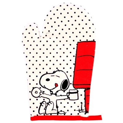 Luva forno Snoopy