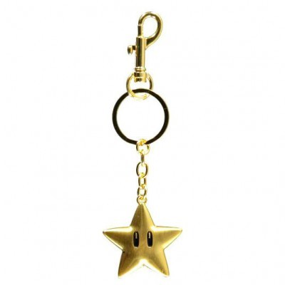 Porta-chaves metal Star Super Mario Nintendo