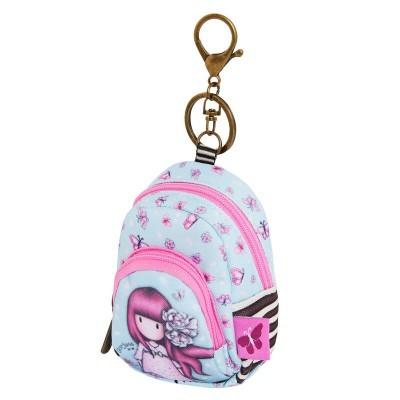 Porta-chaves mochila Gorjuss Cherry Blossom