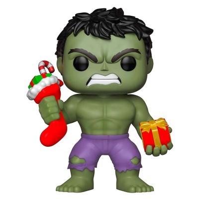 Figura POP Marvel Holiday Hulk with Stocking & Plush