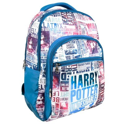 Mochila Undesirable Harry Potter 44cm