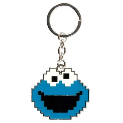 Porta-chaves Cookie Monster Rua Sésamo