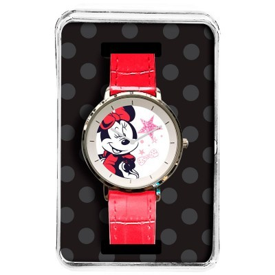 Relógio analógico Minnie Disney