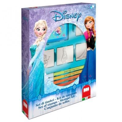 Set 4 carimbos Frozen Disney