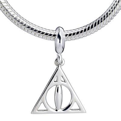 Pendente de colar prata Deathly Hallows Harry Potter