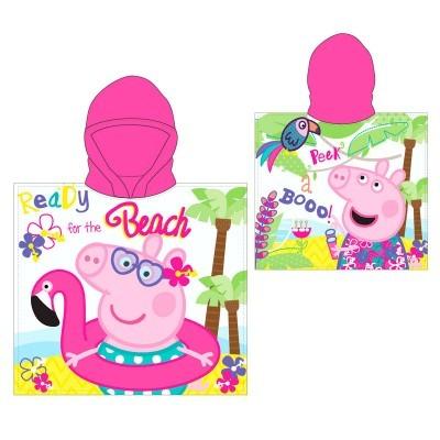 Poncho Toalha Peppa Pig