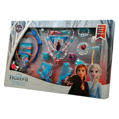 Conjunto Acessórios cabelo Frozen 2 Disney 36pcs