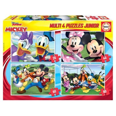 Puzzle Mickey and Friends Disney 20-40-60-80pcs