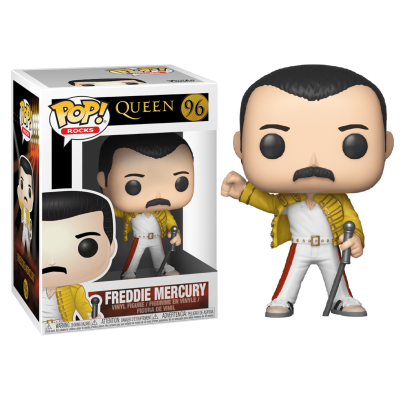 Figura POP Queen Freddie Mercury Wembley 1986