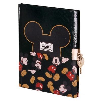 Diário chave Mickey True Disney