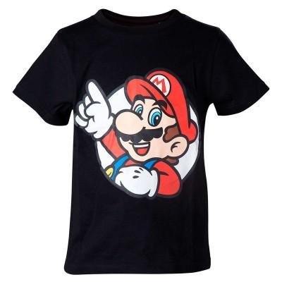 T-shirt criança Super Mario Bros Nintendo