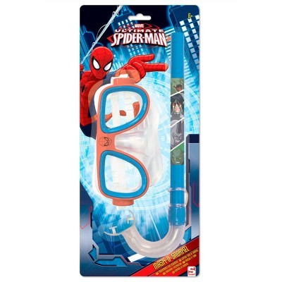 Conjunto Óculos tubo Spiderman Marvel