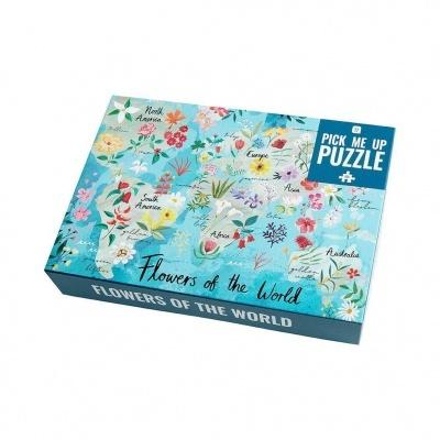 Puzzle Flores no mundo