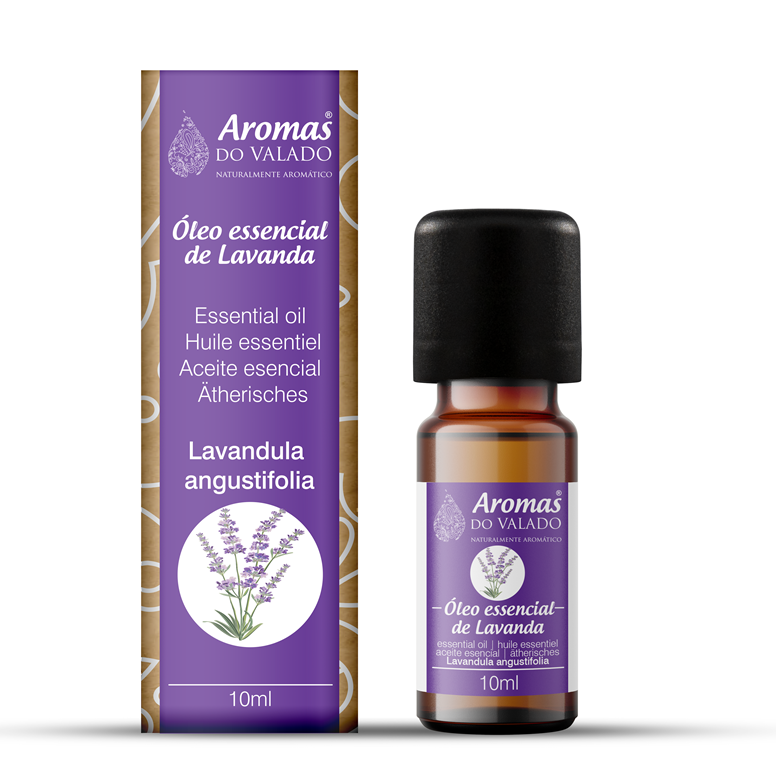 Oléo Essencial de Lavanda 10 ml - Aromas do Valado