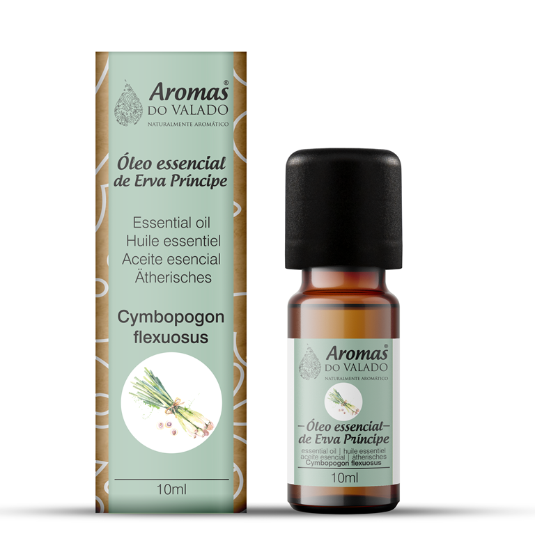 Oléo Essencial de Erva Principe 10 ml -Aromas do Valado