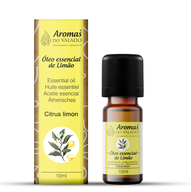 Oléo Essencial Limão 10 ml _Aromas do Valado