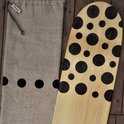 "Eco surf bellyboard ""Bubbles bullet"""