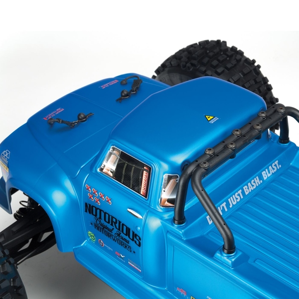 ARRMA Notorious 1/8 Classic Stunt Truck Brushless 6S 4WD RTR