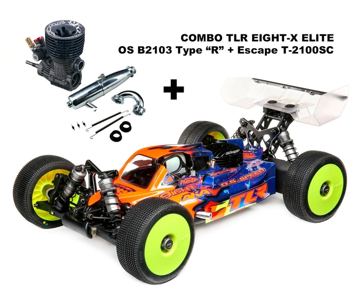 COMBO TLR Eight-X ELITE + OS B2103 R + Escape OS T-2100SC