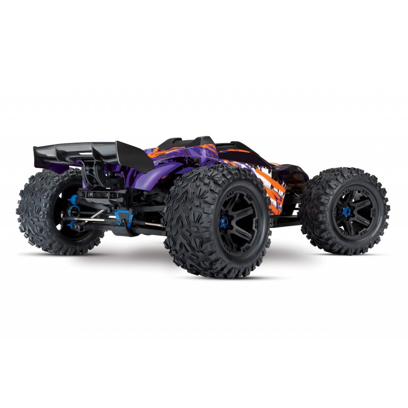 E-Revo 2 Brushless TSM 1/10 Purple