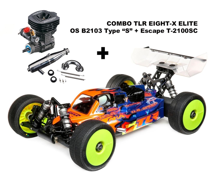 COMBO TLR Eight-X ELITE + OS B2103 S + Escape OS T-2100SC