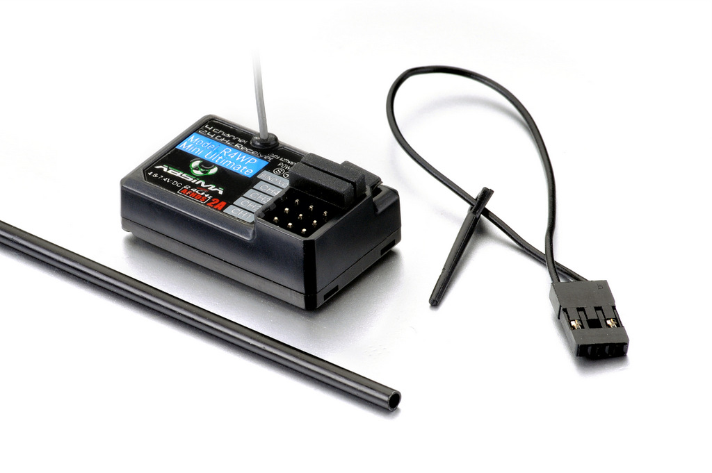 """RADIO """"CR4T ULTIMATE"""" 4-CHANNEL 2.4GHZ INCL. RECEIVER"""