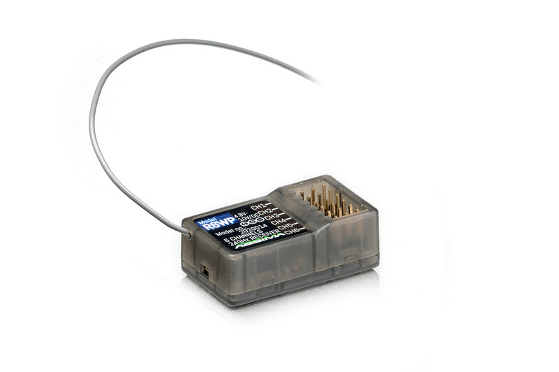 """6-CHANNEL RADIO """"CR6S"""" 2.4GHZ INCL. RECEIVER"""