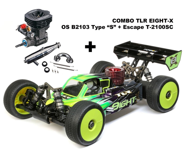 COMBO TLR Eight-X + OS B2103 S + Escape OS T-2100SC