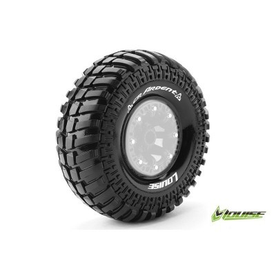 "CR-ARDENT 1:10 CRAWLER TIRES SUPER SOFT FOR 2.2"" RIMS 1 PAIR"